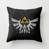 Zelda Hyrule Throw Pillow