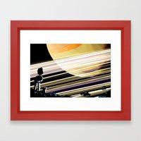 Like a Saturnine Dream Framed Art Print