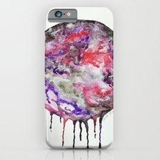 Watercolor Moon Drip Purple, Pink, Black,Grey,White Slim Case iPhone 6s