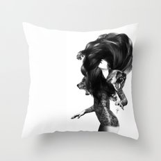 Bear #3 Throw Pillow