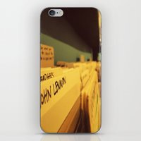 Inspiration personified. iPhone & iPod Skin