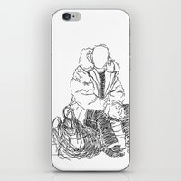 Just Sitting Down iPhone & iPod Skin