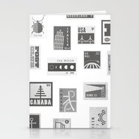 USA, Canada, London, The… Stationery Cards