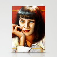 Mia Thurman Stationery Cards