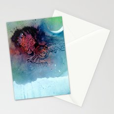 Of the Night Stationery Cards