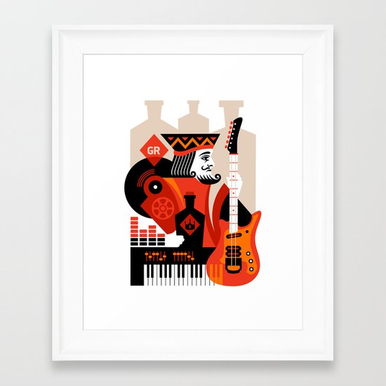 Great Revivers Framed Art Print