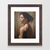 Gabriella Framed Art Print