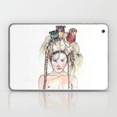 Owls in the head Laptop & iPad Skin