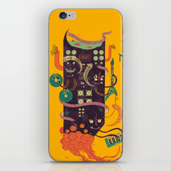 Power Trio iPhone & iPod Skin