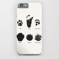 Animal Track iPhone 6 Slim Case