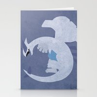 Lugia Stationery Cards