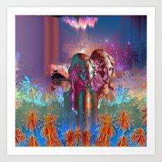 Oildra Art Print