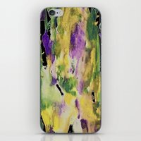 Watercolor Rainbow iPhone & iPod Skin