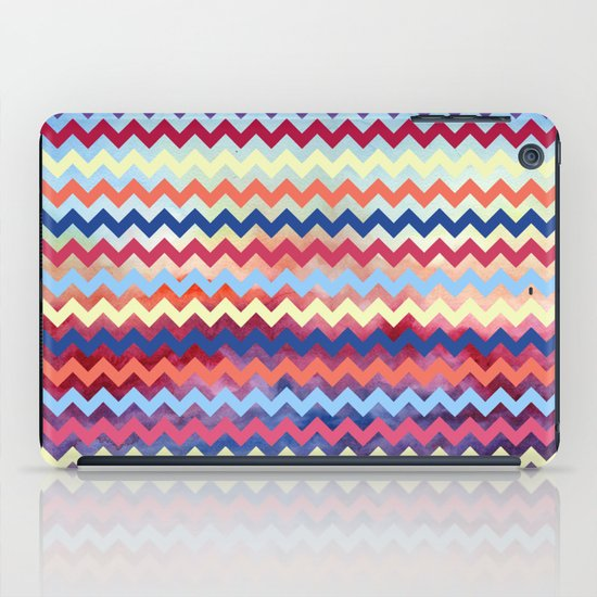 Watercolor Chevron II iPad Case