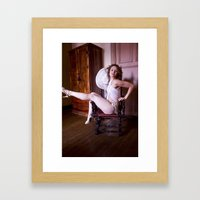 More Glamour Framed Art Print