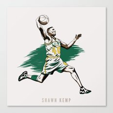 Shawn Kemp Canvas Print