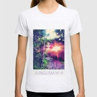 Junglism 4 Womens Fitted Tee Ash Grey SMALL