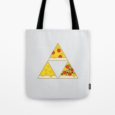 The Pizza Triforce Tote Bag