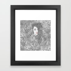 This changing world Framed Art Print