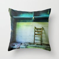 Abandoned Pt.1 Throw Pillow