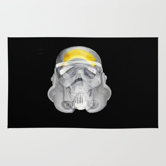 stormtrooper x-ray Area & Throw Rug