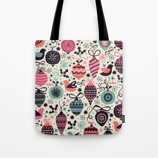 Birds and Baubles  Tote Bag