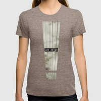 Let It Go Womens Fitted Tee Tri-Coffee SMALL