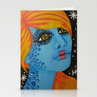 Out Of This World 1  Stationery Cards