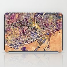 Toronto Canada Street Map iPad Case