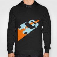 Orange Notch - Ford GT40 Race Car Hoody