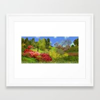 Spring Painting Oil Framed Art Print