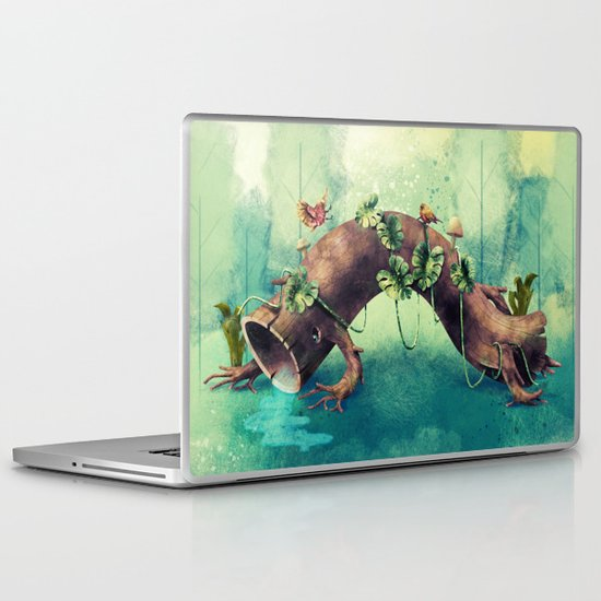 Forest Creature Laptop & iPad Skin