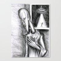Modigliani  Alien Canvas Print