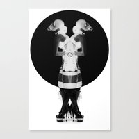Fetish Cyamese Canvas Print