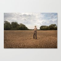 Farmer 2 Canvas Print