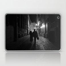 Brussels, a night walk in the heart of Europe Laptop & iPad Skin