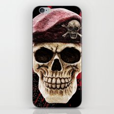 Red beret iPhone & iPod Skin