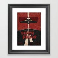 Death Proof Movie Poster Framed Art Print