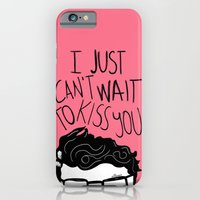 iPhone & iPod Case featuring I just can't wait to kiss you ♥ by Villaraco