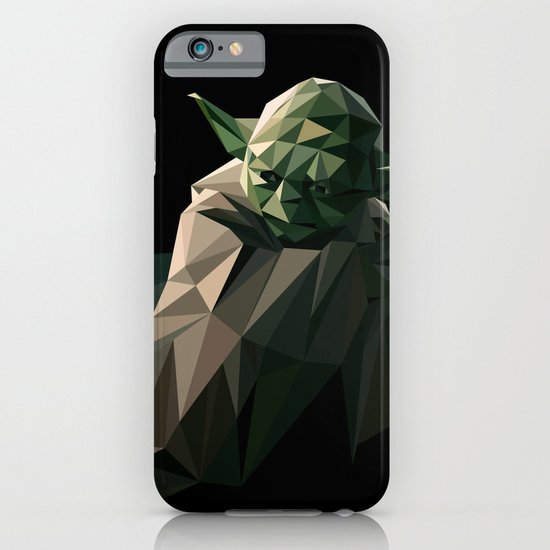 Geometric Yoda iPhone & iPod Case