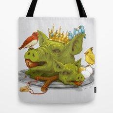 Furious Fowl Tote Bag