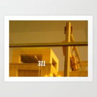 311 Window Art Print