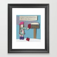 Mail Framed Art Print