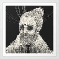 HOLLOWED MAN Art Print