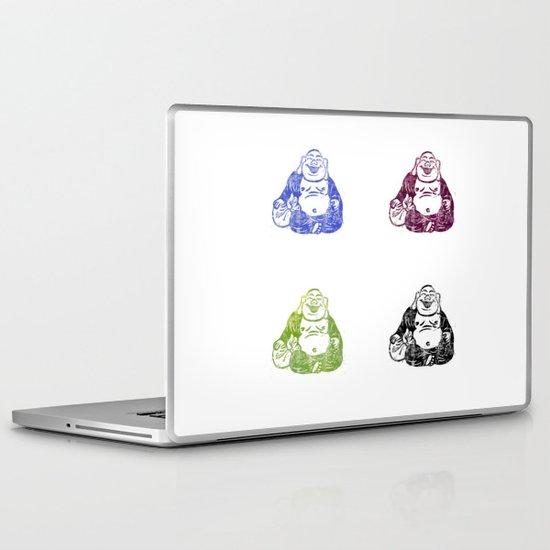 CMYK BUDDHA Laptop & iPad Skin