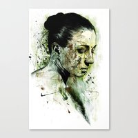 Bury Canvas Print