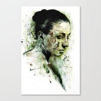 bury Canvas Print