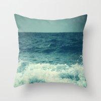 The Sea II. (Sea Monster… Throw Pillow