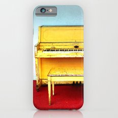 Out of Tune - Vintage Beach Piano iPhone 6 Slim Case