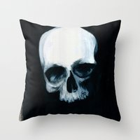 Bones XIV Throw Pillow